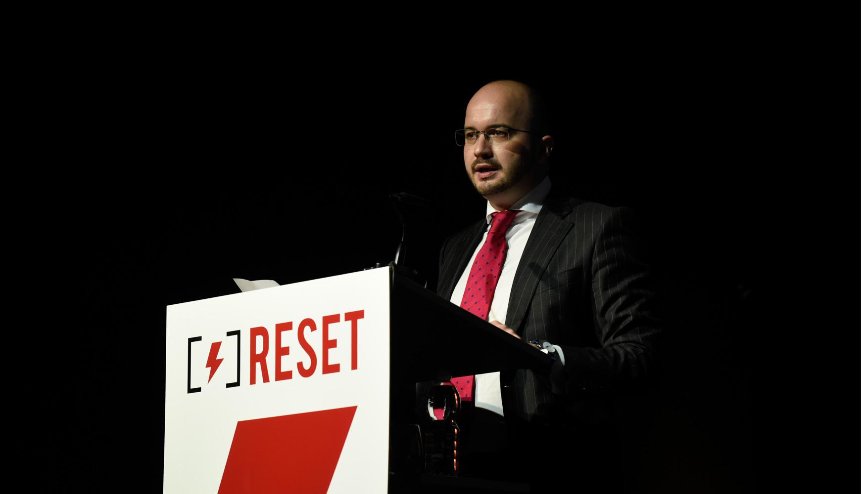 Inauguración del XX Congreso Nacional Reset celebrado en Marbella