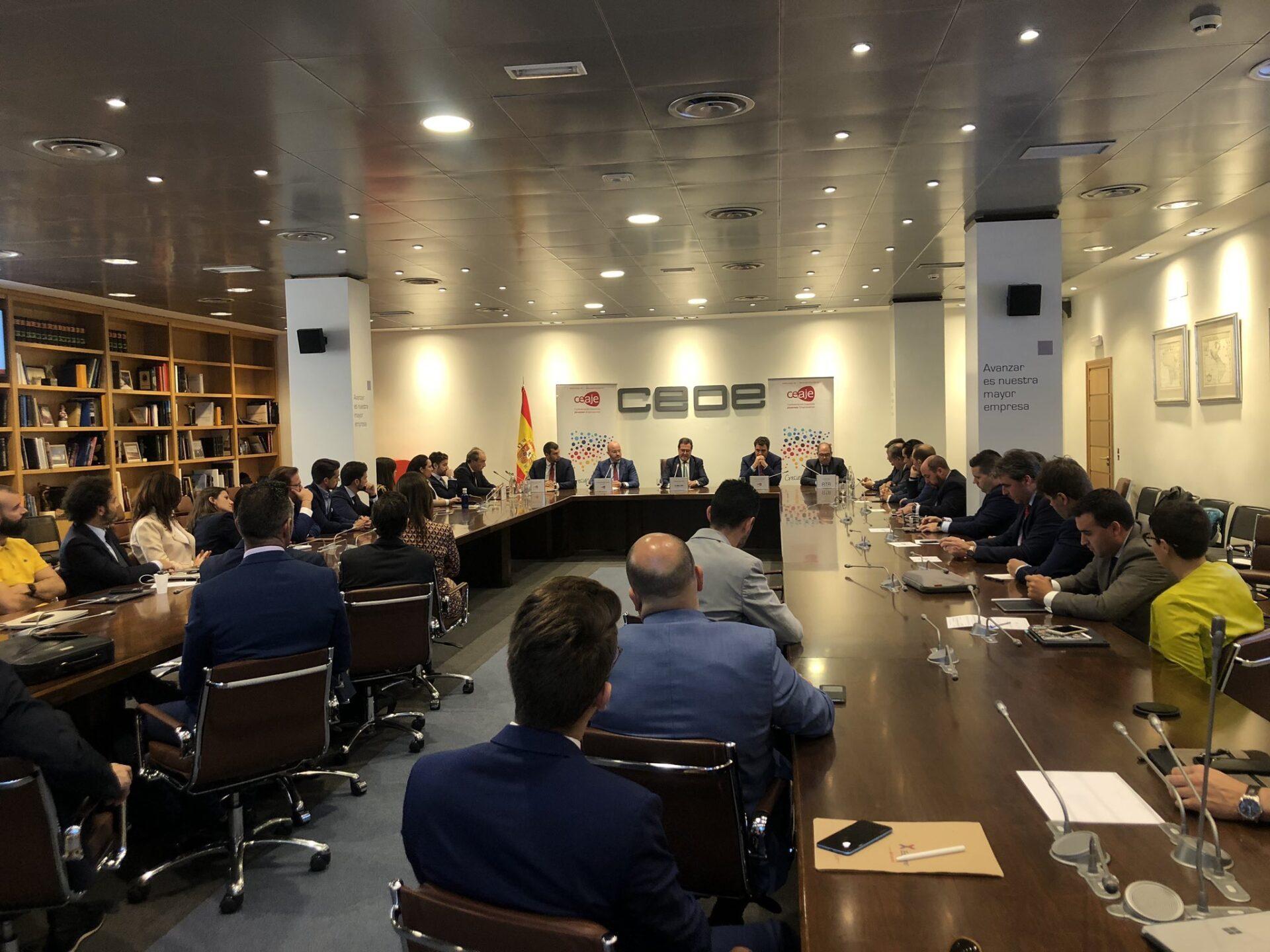 Fermín Albaladejo, reelegido por unanimidad Presidente de la Confederación Española de Asociaciones de Jóvenes Empresarios